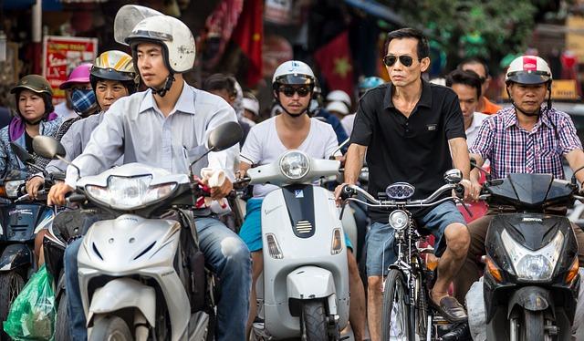 découvrir Vietnam en moto