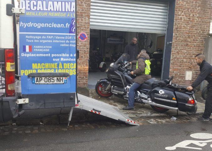 reparation moto