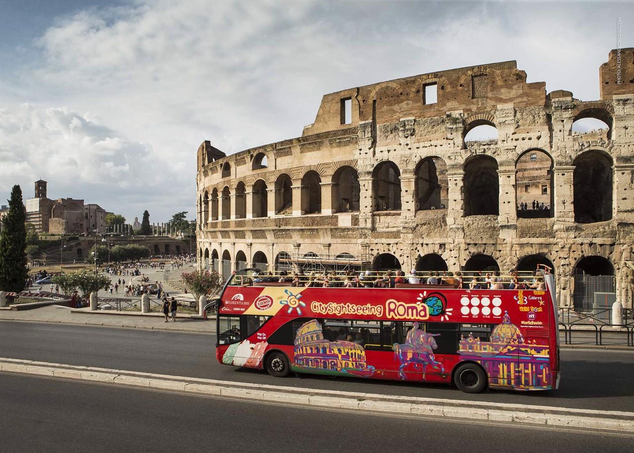 location bus pour Rome
